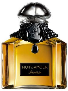 Nuit d'Amour Guerlain perfume - a fragrance for women 2006 Perfume Ad, Antique Perfume Bottles, Best Perfume, Vintage Perfume, Perfume Scents, Parfum Guerlain, Beautiful Perfume, Perfume Collection, Smell Good