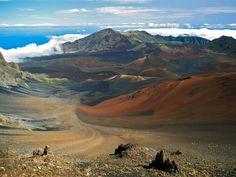 Haleakala Crater - Maui, Hawaii