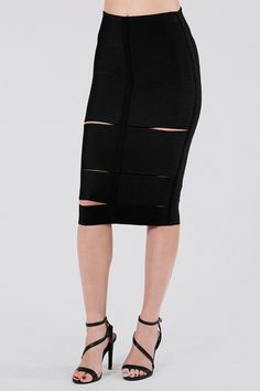 Kari Bandage Pencil Skirt