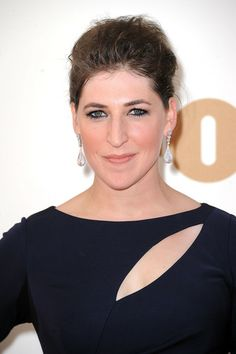 mayim bialik | Mayim Bialik Actress Mayim Bialik arrives at the 63rd Annual Primetime ...