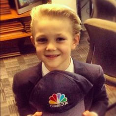 Charlottean Billy Wagenseller is just 5 but he plays the role of a vampire in the new #twilight movie! #nbccharlotte
