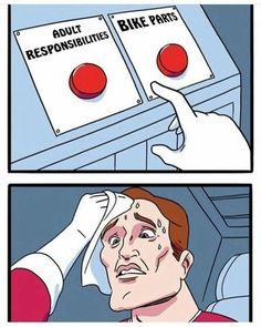 Adult responsibilities vs bike parts