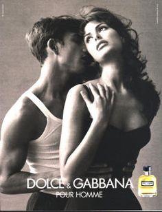 Dolce & Gabanna Pour Homme by Dolce & Gabanna with Elsa Benitez and Enrique Palacios (1997).