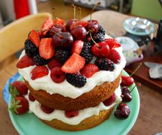 berries & cake by caro borges