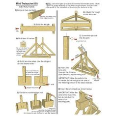 Diy Trebuchet Instructions