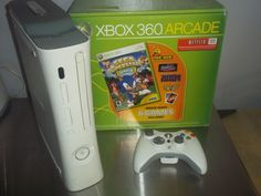 Microsoft original XBOX360 ARCADE console + controller 20gb harddrive boxed: $95.00 End Date: Thursday Apr-26-2018 13:18:05 PDT Buy It Now…