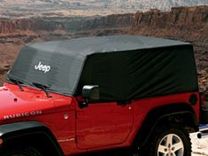 Jeep Wrangler Cab Cover--this looks cool.but don't show it to my husband.he might buy it! 2005 Jeep Wrangler, Jeep Cj7, Jeep Wrangler Unlimited, Jeep Camping, Jeep Gear, Jeep Brand, Jeep Parts, Jeep Accessories, Off Road