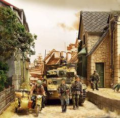German on the move  (1:35 scale)