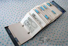 Rolodex Clear Stamp Storage