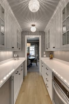 Galley Kitchen Remodel Cost - Galley Kitchen Remodel Cost, How Much Does It Cost to Do A Smart Kitchen Renovation White Galley Kitchens, Galley Kitchen Design, Galley Kitchen Remodel, Home Kitchens, Kitchen Remodeling, Open Galley Kitchen, Minimal Kitchen, House Remodeling, Kitchen Island