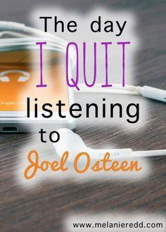 Is what Joel Osteen