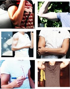 louis biceps im going to die. Too late. Already dead. Oh geez those biceps. He's an angel sent from above I can't even I need help. Call 911. I'm not okay. At all. I'm on THE FLOOR.