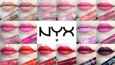 NYX SOFT MATTE LIP CREAM REVIEW / LIVE LIP SWATCHES