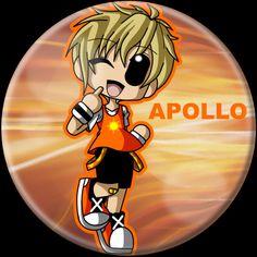 Apollo in Chibi.