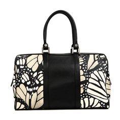 Pineda Covalin Monarch vitral Butterfly Handbag