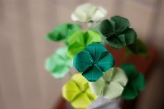 191 best origami flower fun images on pinterest paper flowers sweet little origami flowers incl tutorial origami folding origami easy paper folding mightylinksfo