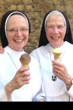 Sr Joseph Andrew & Mother Assumpta O.P. They are founders of Sisters of Mary, Mother of the Eucharist in Ann Arbor, MI