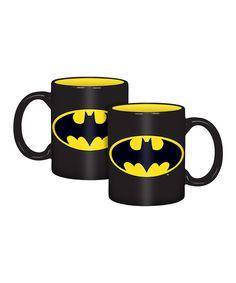 Batman Logo Mug - Set of Four | zulily