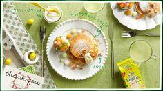 栄養Cさんがビタミン満点レシピをレクチャー! vol.3 ふっくらリコッタチーズパンケーキ C1000レモンバター添え