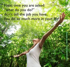 Daily #Inspiration:  Job is not a Synonym for Life