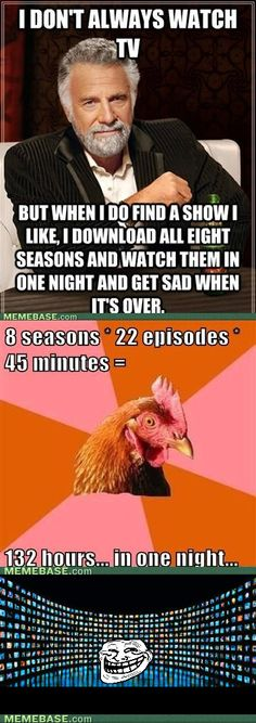 this is exactly what i do - breaking bad, sons of anarchy, game on thrones, weeds, make with the new seasons! camelot, lie to me, why did you end?