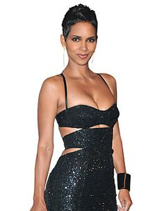 Cutouts look classier when you're Halle Berry