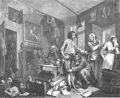 A Rake's Progress William Hogarth 1735