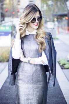 Metallic Tweed