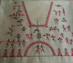 Special design Hand Embroidery Dress, Embroidery Neck Designs, Embroidery Works, Embroidery Suits, Hand Embroidery Stitches, Embroidery Patterns, Kurti Patterns, Creative Embroidery, Hand Work Design