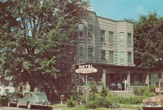 Imperial Hotel - was managed by the Gleason family in the early 1950's. This postcard was sent to me by Joanie Gleason in 1954 when I was in Marine Corps Boot Camp @ San Diego, California...