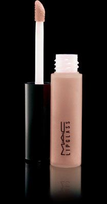 MAC LipGlass in C-Thru. One of my Absolute Favorites, not sticky and perfect over any lipcolor or by itself!