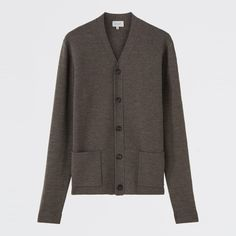 Jigsaw's colourways are neutral and the cut is fitted and boxy, providing an easy match across the board for suits, jeans and end of summer shorts #jigsaw #summer #cardigan #fashion #menswear #clothes
