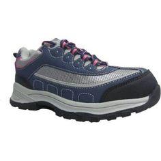 Brahma Women's Sacha Steel Toe Low Work Shoe, Size: 6.5, Blue