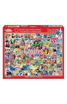 WHITE MOUNTAIN PUZZLES 'Couples' 1000-Piece Puzzle available at #Nordstrom