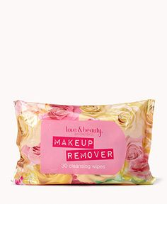 Forever 21 Makeup Remover wipes--I've tried around 6 different brands and these are the cheapest, smell the best, work the best, AND don't burn my eyes
