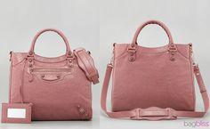 Balenciaga Rose Bruyere Velo Bag