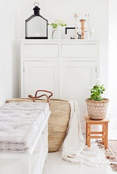 Swedish white interior