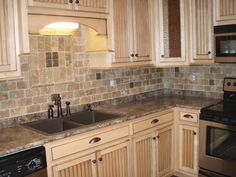 slate backsplash tiles for kitchen |  blog: rustic indian