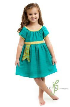 Merida Brave Disney Inspired Peasant Dress by ChameleonGirls
