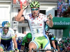 Team Sky | Tour de Suisse | Gallery | Tour de Suisse stage three gallery - Peter Sagan edged out Michael Albasini, with Henao finishing third