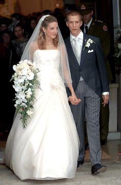 Los príncipes Louis y Tessy de Luxemburgo el día de su boda el 29 de septiembre de 2006.