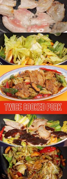 Easy Twice Cooked Pork Recipe (Chinese Pork Belly Stir-Fry with Cabbage)