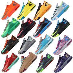 hot sales 71b20 b8f22 Nike KD VI 6 Air Max Zoom Thunder Kevin Durant 5 4 Mens Basketball Shoes  Pick 1