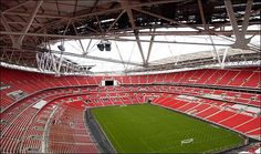 new wembley stadium Wembley Stadium, Best Player, Britain, Basketball Court, The Incredibles, Football, Places, Sports, Hs Sports