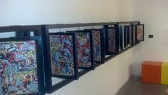 Great way to display comic book.  Like to do in the office.