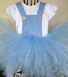 Dorothy...Wizard of Oz...Tutu Dress...4t