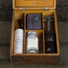 antique shaving items | Vintage Shaving Box