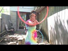 CAP's turns : twin hoop tutorial - YouTube