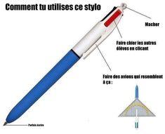 #VDR #DROLE #HUMOUR #FUN #RIRE #OMG Ça c'est pour Hugo Et en le démontant ça sert de lance boulettes!