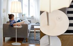 IKEA Releases New Furniture Collection, Promises Better Living Through Wireless Power Smart Furniture, Ikea Furniture, Ikea Wireless Charging, Ikea New, Girls Apartment, Ikea Decor, Bed Table, Lamp Table, Smart Home
